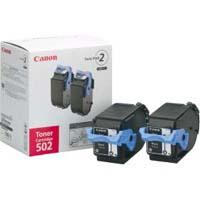 Canon トナーカートリッジ カートリッジ502 2P(ブラック) 純正品(2本パック)