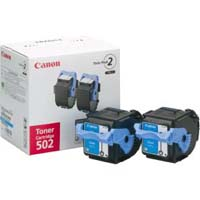 Canon トナーカートリッジ カートリッジ502 2P(シアン) 純正品(2本パック)