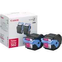 Canon トナーカートリッジ カートリッジ502 2P(マゼンタ) 純正品(2本パック)