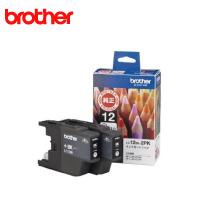 ブラザー インクカートリッジ お徳用黒2個パック LC12BK-2PK 純正品