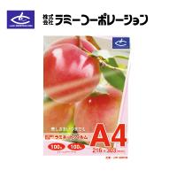 ラミーコーポレーション パックラミネートフィルム A4判(100枚/1箱) 100μタイプ