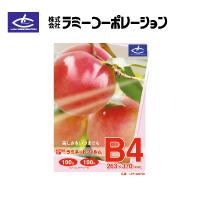 ラミーコーポレーション パックラミネートフィルム B4判(100枚/1箱) 100μタイプ