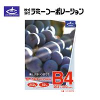 ラミーコーポレーション パックラミネートフィルム B4判(50枚/1箱) 厚手250タイプ
