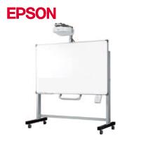 EPSON インタラクティブプロジェクター EB-1420WT+82型ボードスタンド(IWS-82VEC)