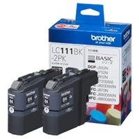 ブラザー インクカートリッジ LC111BK-2PK(黒2個パック)