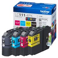 ブラザー インクカートリッジ お徳用4色パック LC111-4PK