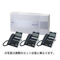 NEC ビジネスホン Aspire UX 標準電話機4台セット