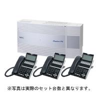 NEC ビジネスホン Aspire UX 標準電話機4台(ひかり電話直収モデル)