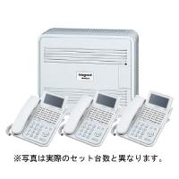 日立 ビジネスホン integral-F 標準電話機4台セット(ひかり電話直収モデル)