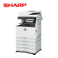 シャープ カラー複合機 ECOLUTION MX-6170FN 4段給紙モデル