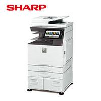 シャープ カラー複合機 ECOLUTION MX-5150FV 大容量給紙モデル