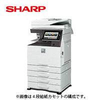 シャープ カラー複合機 ECOLUTION MX-4170FN 2段給紙モデル