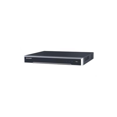 シャープ ネットワークビデオレコーダー YC-R0814