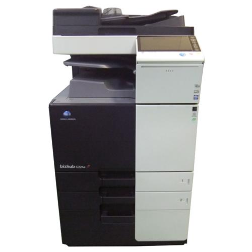 [中古]コニカミノルタ カラー複合機 Bizhub C284e 4段給紙カセットモデル