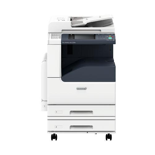 ゼロックス カラー複合機 DocuCentre-VI C2264 (Model-CPFS-2TS) Mac対応(平成2書体) 2段給紙ショートモデル
